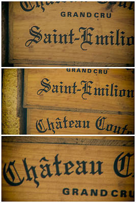 Images For Packaging Photograph - Wine Boxes Collage by Georgia Fowler