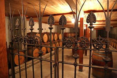 Wine Cellar Photograph - Wine Cellar  by Frank Freni