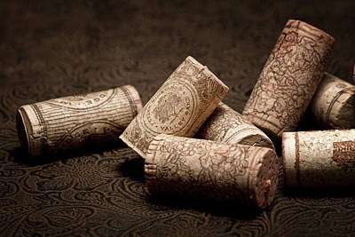Wine Corks Still Life IIi Art Print by Tom Mc Nemar