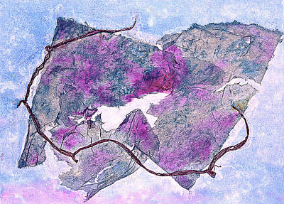 Vino Mixed Media - Wine Country In Northern California  by Asha Carolyn Young