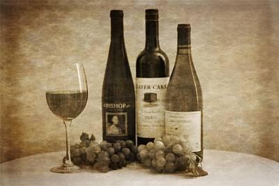 Wine  Art Print by Dan Sproul