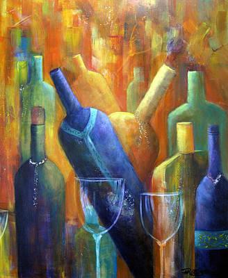 Painting - Wine Fest by Roberta Rotunda
