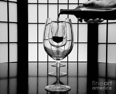 Wine For Three 2 Art Print