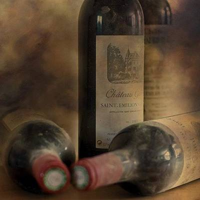 Wine Wall Art - Photograph - #wine #french #redwine #stemilion by Georgia Fowler