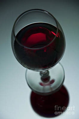 Photograph - Wine Glass 2 by Glenn Gordon