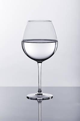 Wine Glass With Water Original