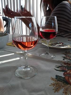 Wine Glasses Original by JS Matthew