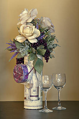 Photograph - Wine Glasses by Maria Coulson