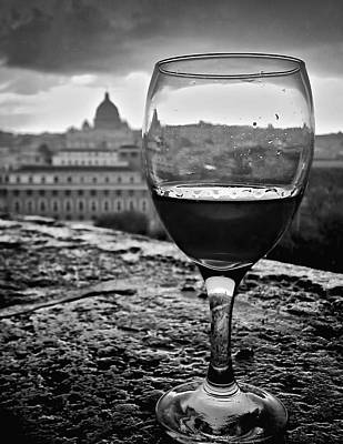 Photograph - Wine In Rome by Michael Yeager
