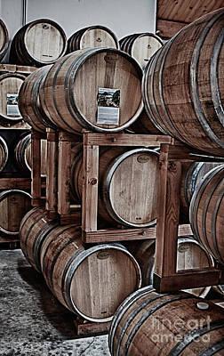 Wine Kegs Original by Kati Tomlinson