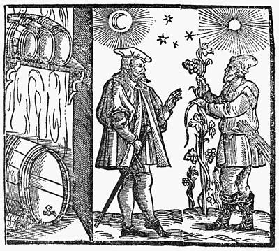 Winemaking Painting - Wine Merchant, 1582 by Granger