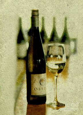 Wine Press Art Print by Linde Townsend
