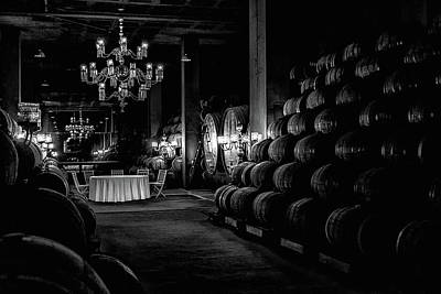 Old Barrels Photograph - Wine Production by Jose Alpedrinha