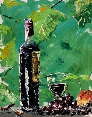 Painting - Wine Sampling by Henry Blackmon