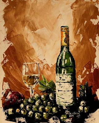 Painting - Wine Sampling II by Henry Blackmon
