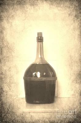 Wine Bottle Images Photograph - Wine by Sophie Vigneault