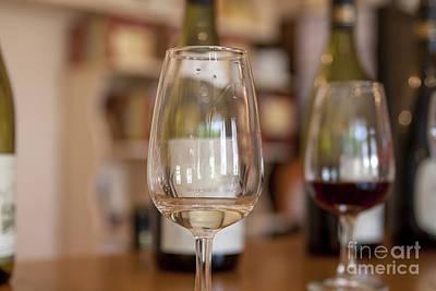 Tasting Photograph - Wine Tasting by Patricia Hofmeester