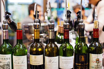 Focus On Foreground Photograph - Wine Tasting, Saint-emilion, Gironde by Panoramic Images