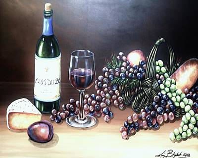 Painting - Wine Time by Kimberly Blaylock