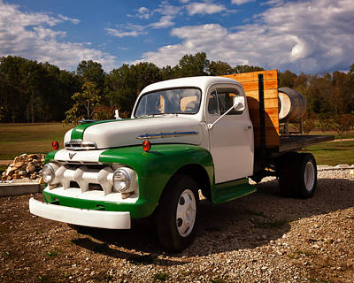 Photograph - Wine Truck by Denis Lemay