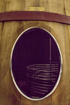 Tasting Photograph - Wine Vat by Georgia Fowler