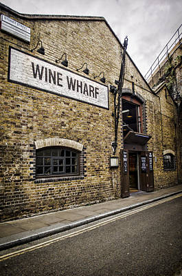 Photograph - Wine Wharf by Heather Applegate