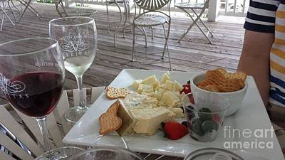 David Gray Photograph - Wine With Your Cheese by David Gray