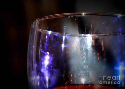 Photograph - Wineglass One by A K Dayton
