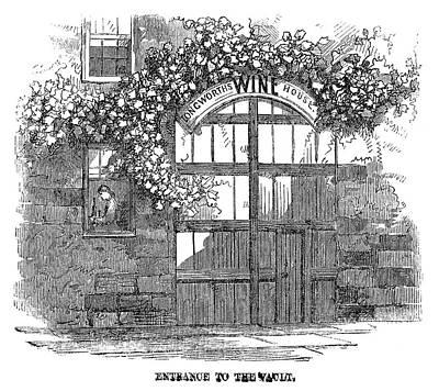 Winemaking Wine Vault Art Print by Granger