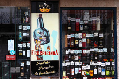 Wines And Ports For Sale Portugal Art Print