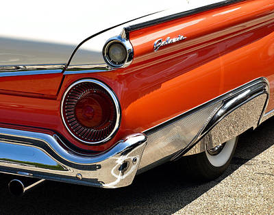 Photograph - Wing And A Skirt - 1959 Ford by John Waclo