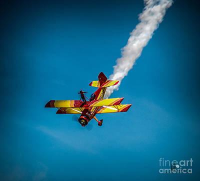 Photograph - Wing Walker by Ronald Grogan
