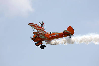 Photograph - Wing Walker by Steve Ball