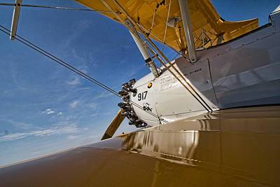 Photograph - Wing Walking by Daniel Sheldon