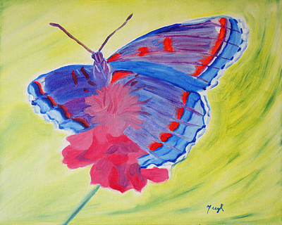 Winged Delight Art Print
