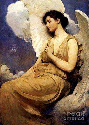 Painting - Winged Figure by Pg Reproductions