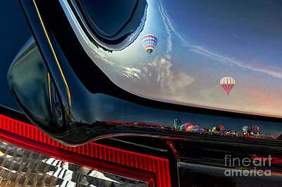 Hot Air Balloon Mixed Media - Winged Flight by Alan Greene