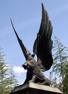Photograph - Winged Guardian by David Nicholls