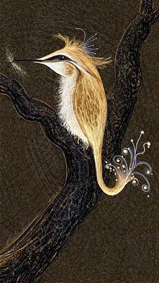 Winged Ribbonor Art Print