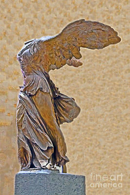 Photograph - Winged Victory Of Samothrace by Elvis Vaughn