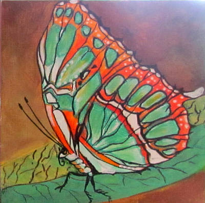Painting - Wings 2 by Susan Duxter