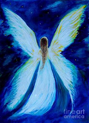 Painting - Wings Above by Leslie Allen