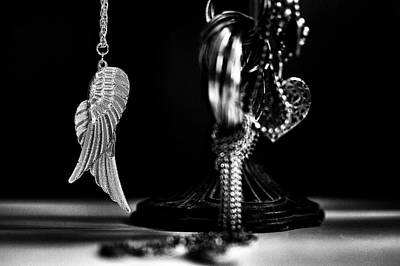 Silver Necklace Photograph - Wings Of Desire II by Marco Oliveira