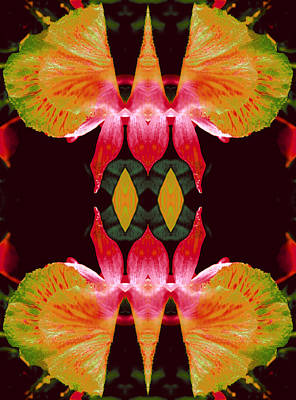 Etheric Digital Art - Wings Of Focused Creativity by Marie-Louise Svensson