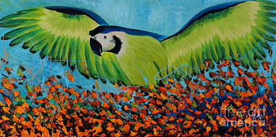 Painting - Wings Of Joy by Preethi Mathialagan