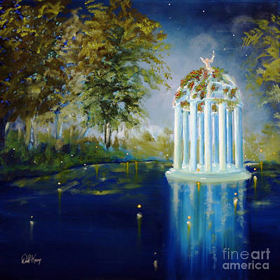 Painting - Wings Of Love Gazeebo by David Kacey