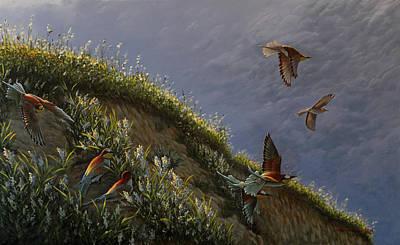 Wings Of Sumer Art Print