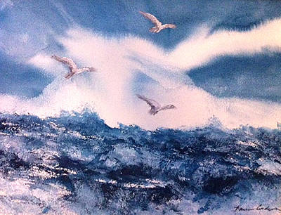 Wings Of The Wind Art Print by Karen  Condron