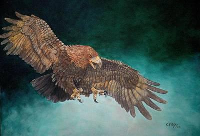 Wingspan Art Print by Jean Yves Crispo