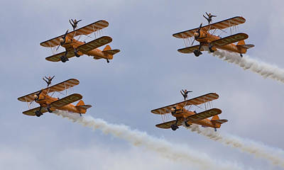 Wingwalkers  Perfect Sync Art Print